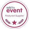 Add To Event Featured Supplier, event hire North East