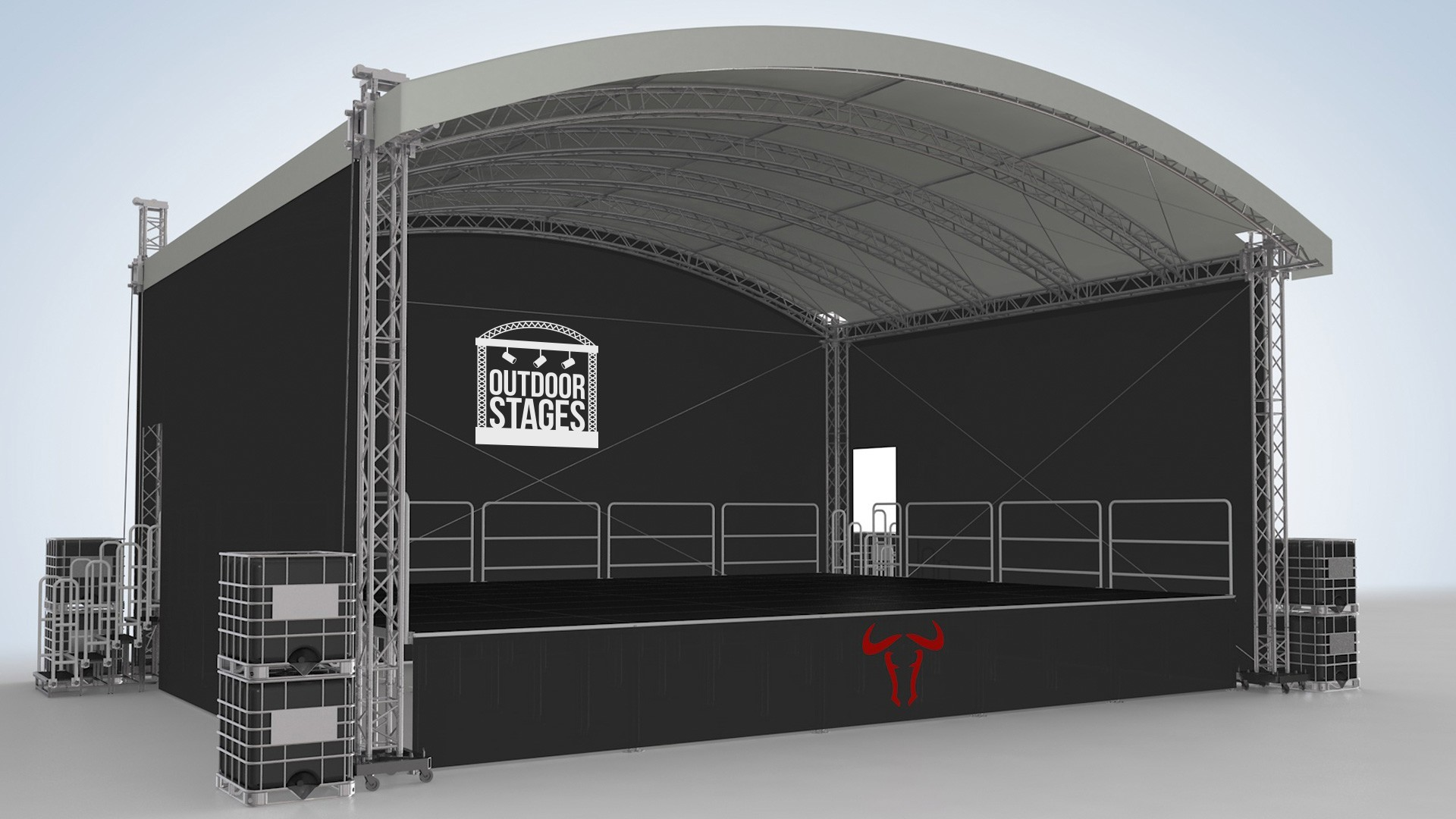 Outdoor Stages Lighting Hampshire