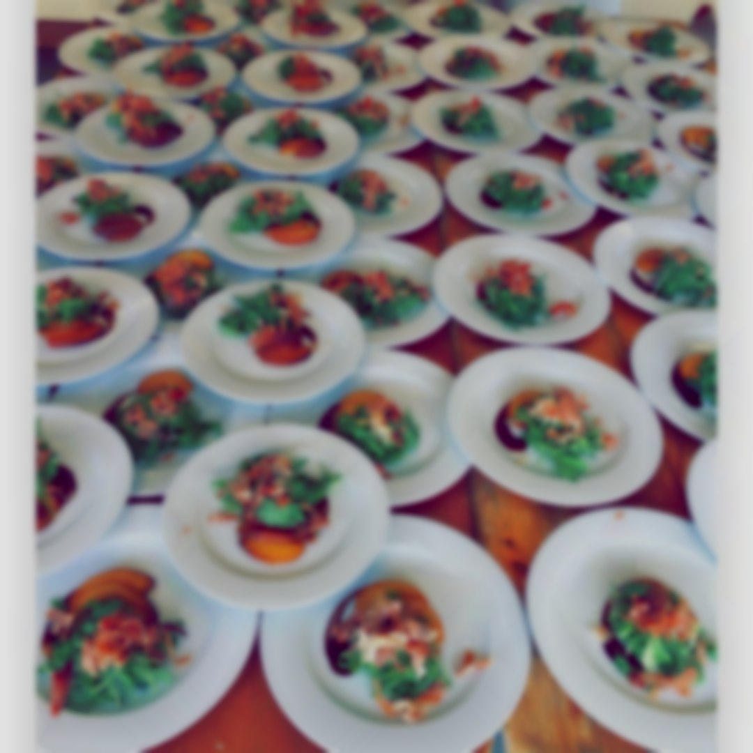 Wedding catering starters