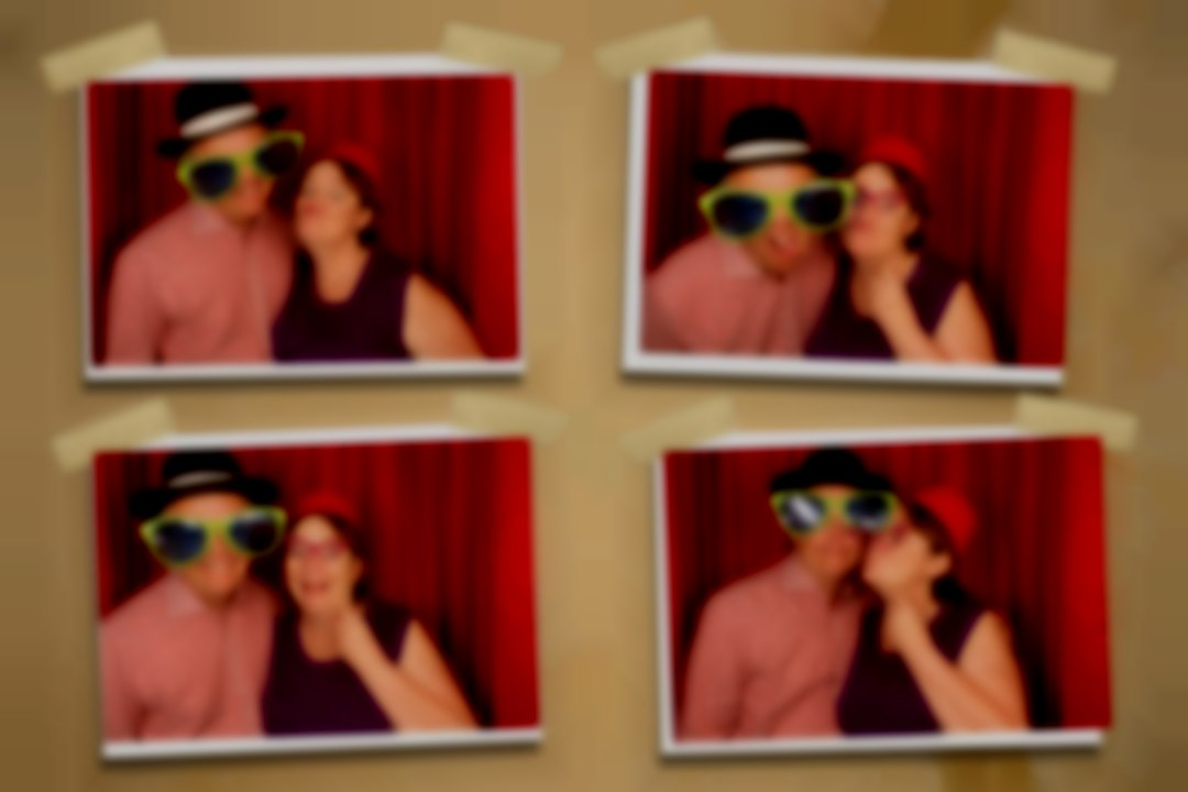 Kent Photo Booth Red Curtain
