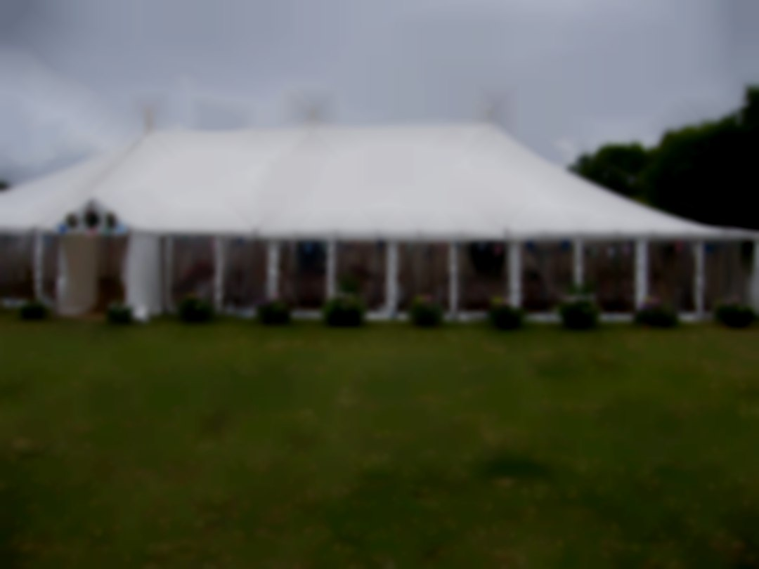 Traditional Wedding Marquee