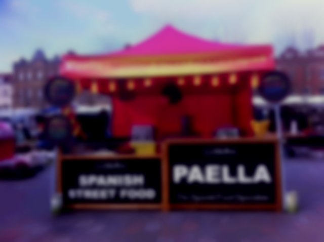 Paella mobile catering