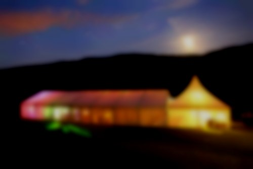 An image sent from a recent client of ours, of their marquee at night from a distance. A truly great shot.