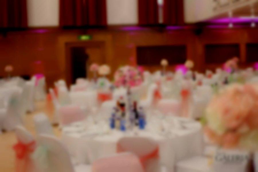 Coral theme wedding