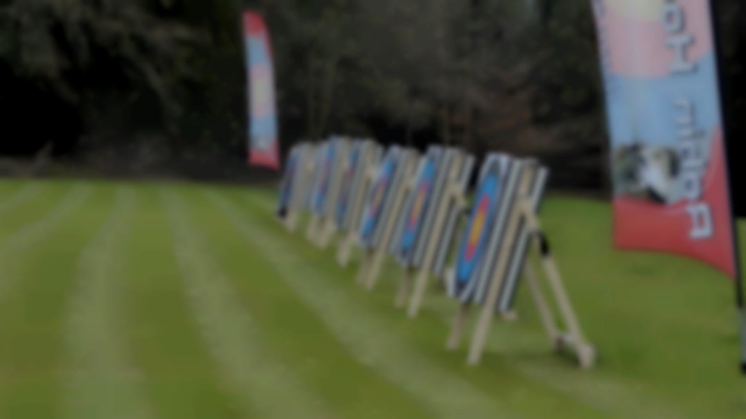 Mobile archery unit at Robin Hood Events