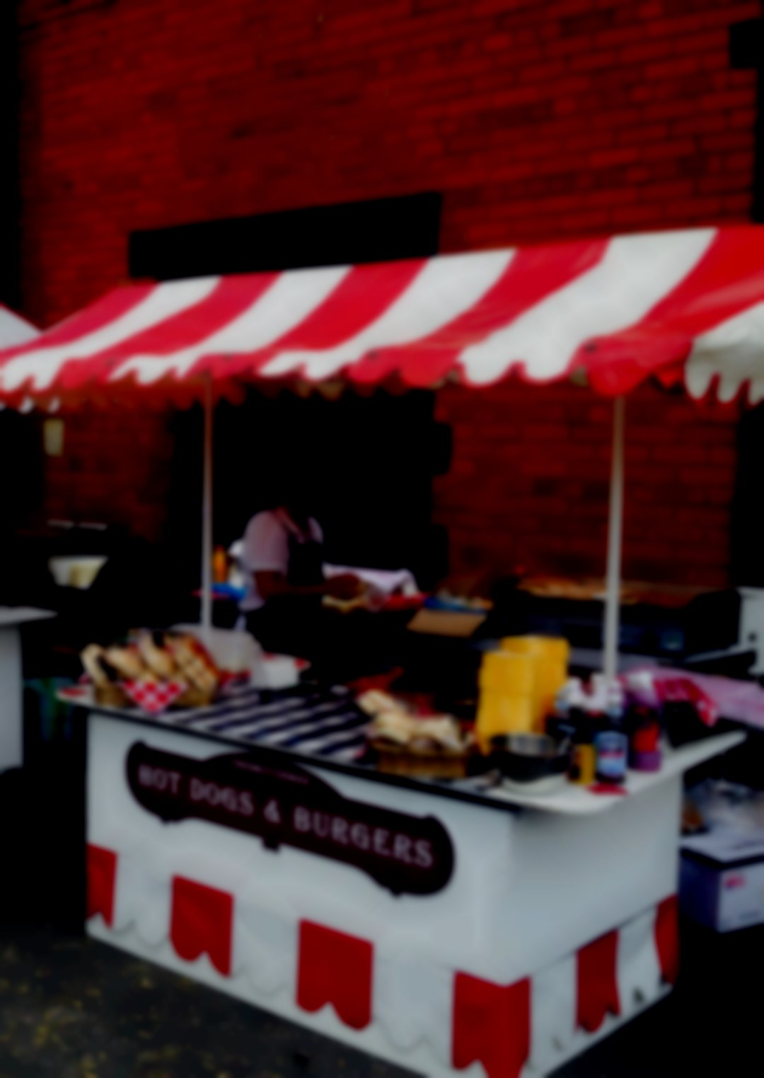 Bbq or burger & hot dogs stand for hire all events