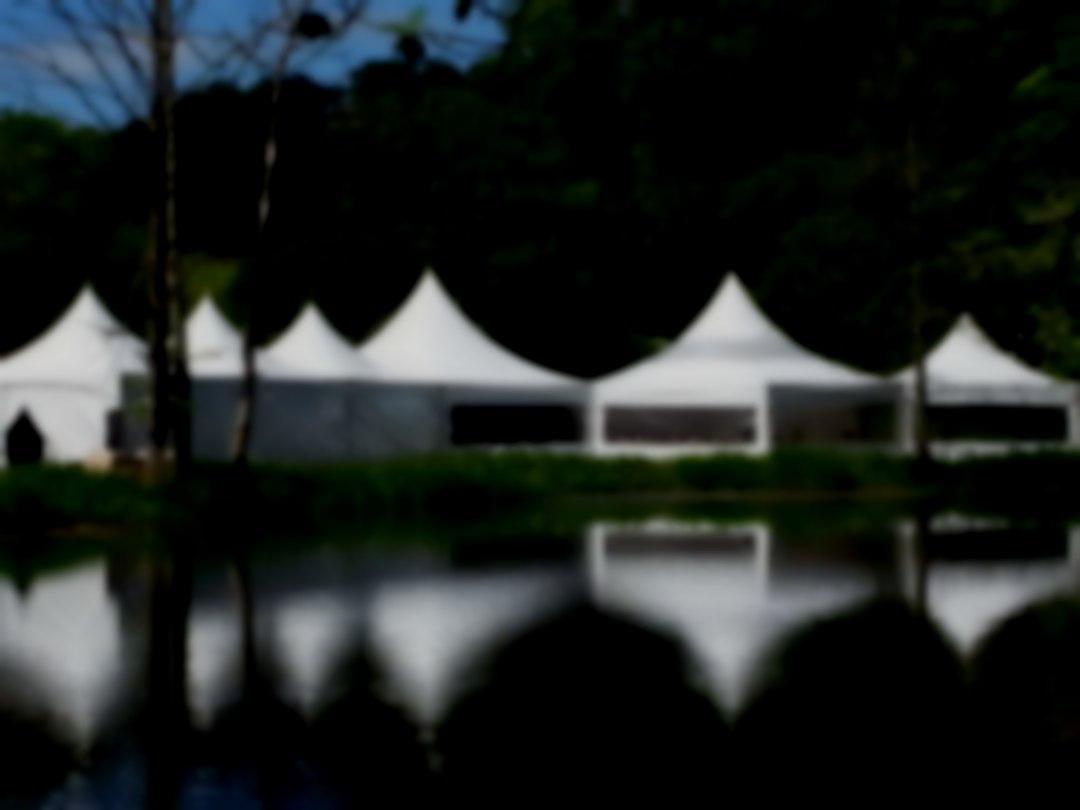 Pagoda marquees lake vineyard wedding venue