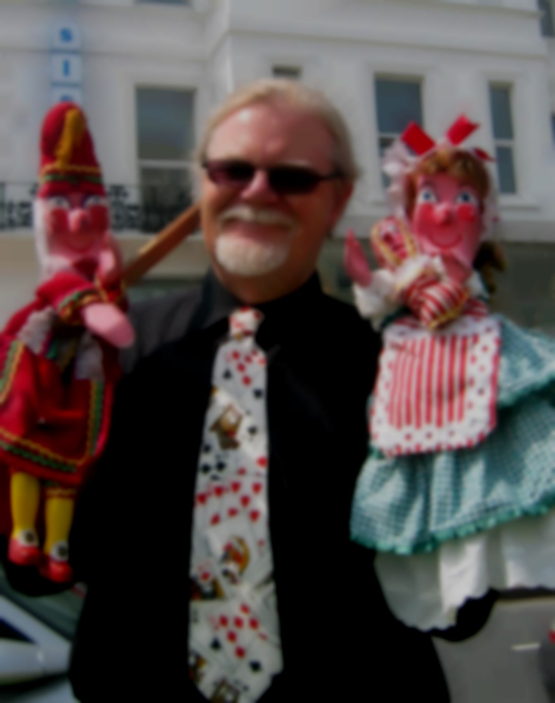 Punch and Judy  with Prof. Ray Sparks