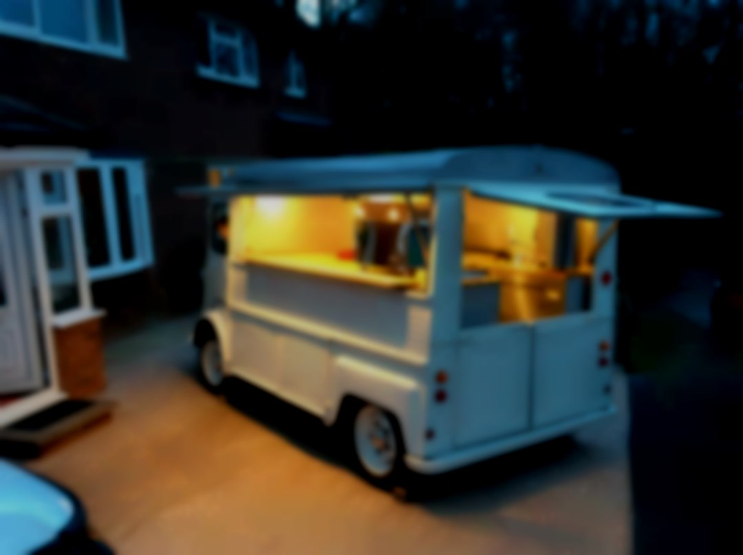Hire our van for your event