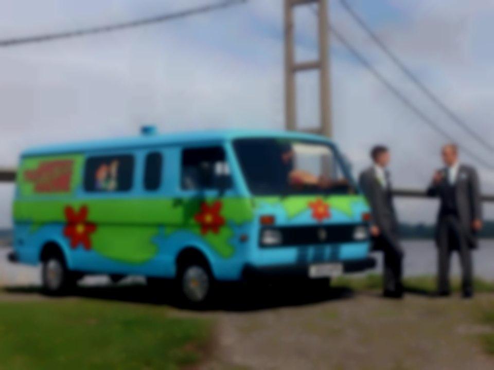Mystery Machine - Premier Novelty Vehicles