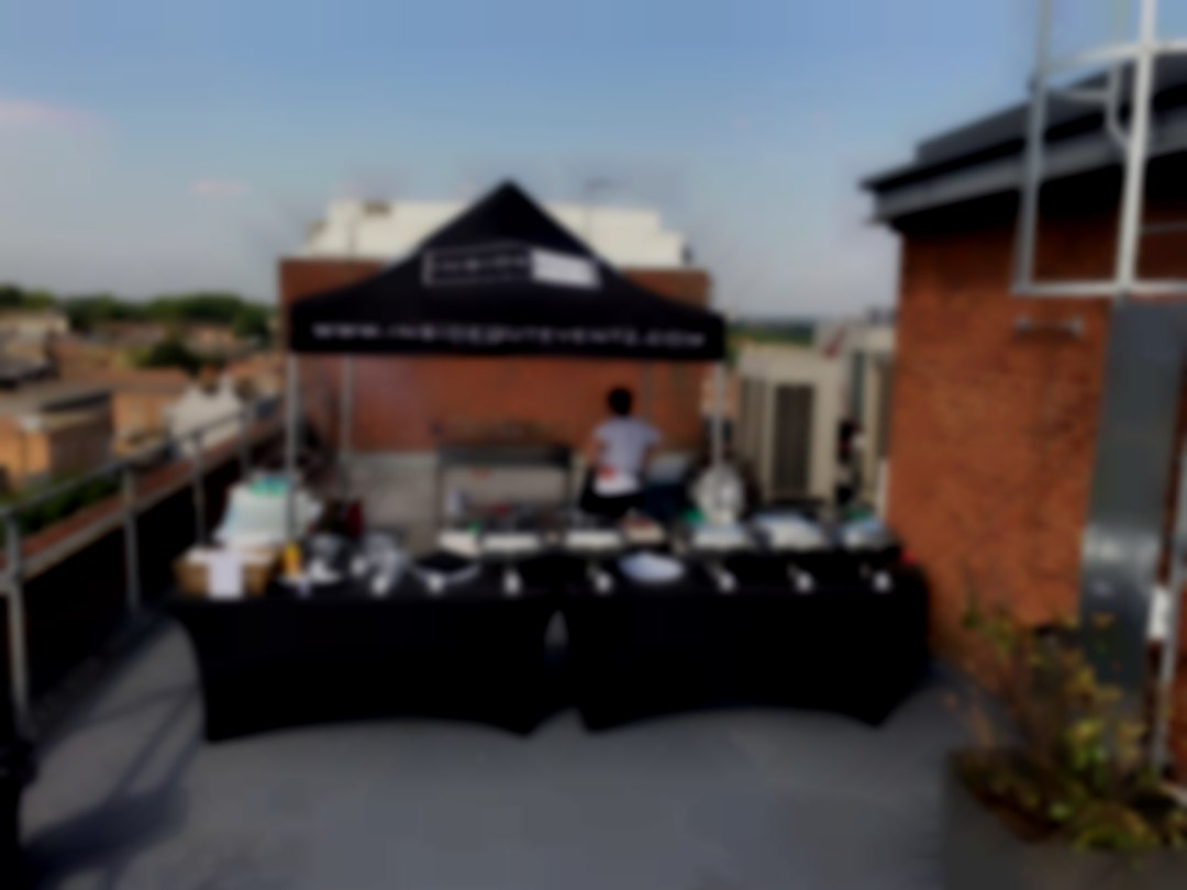 Inside Out Eventz Outdoor BBQ/Kitchen Set Up