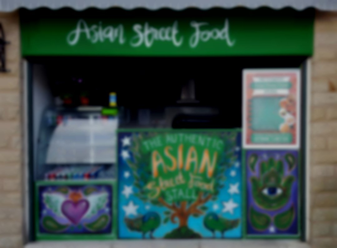 The Authentic Asian Street Food Stall