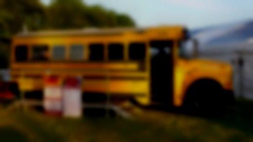MY-WAY Kitchen - American school bus