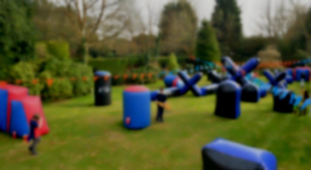 Nerf Garden Party Sevenoaks, - 40 children