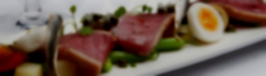 Deconstructed Tuna Nicoise salad from Beales Gourmet