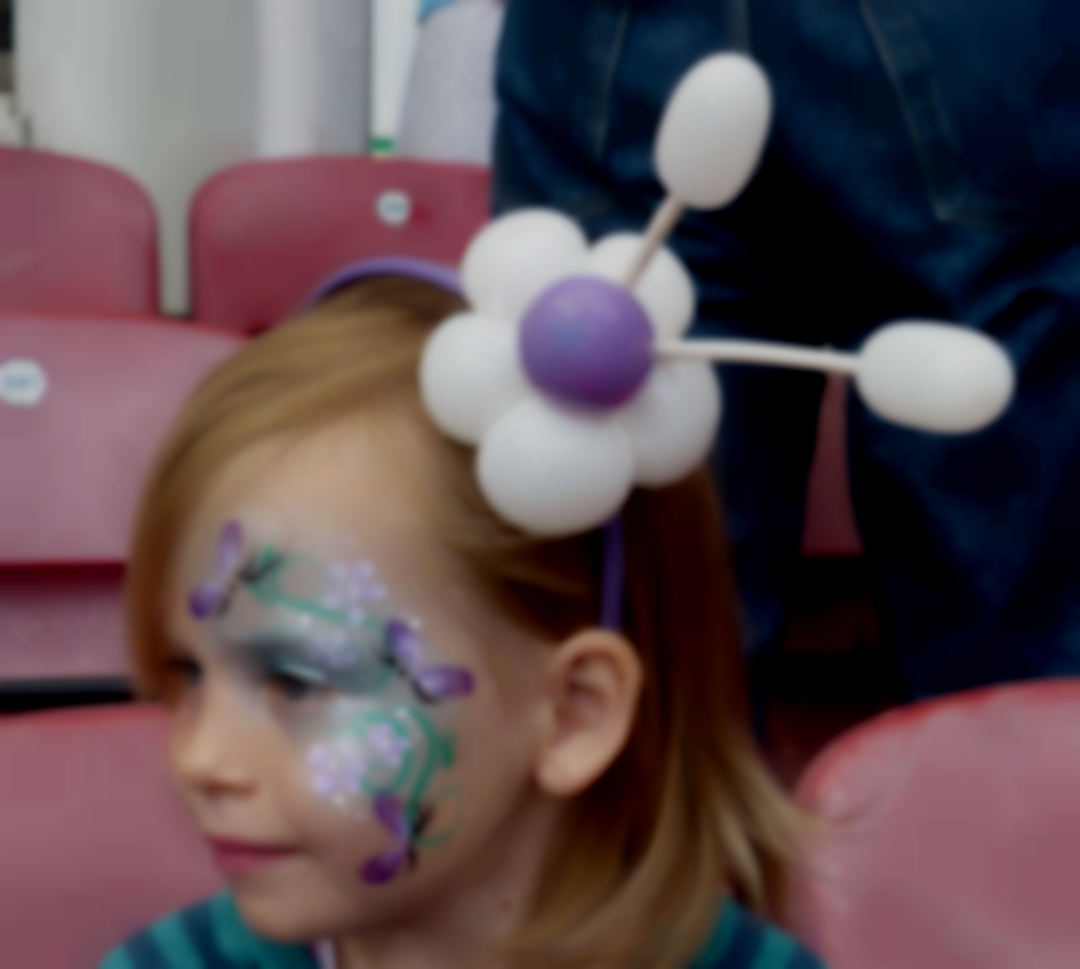 face painting & balloons westham FC