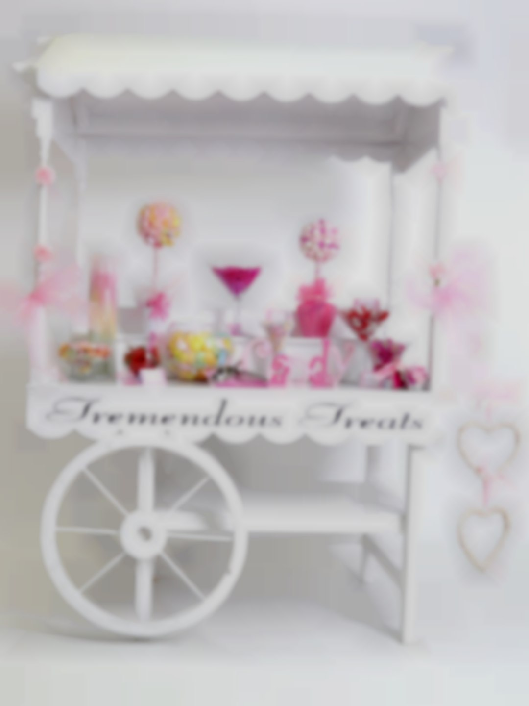 Large Handcrafted Sweetie Cart