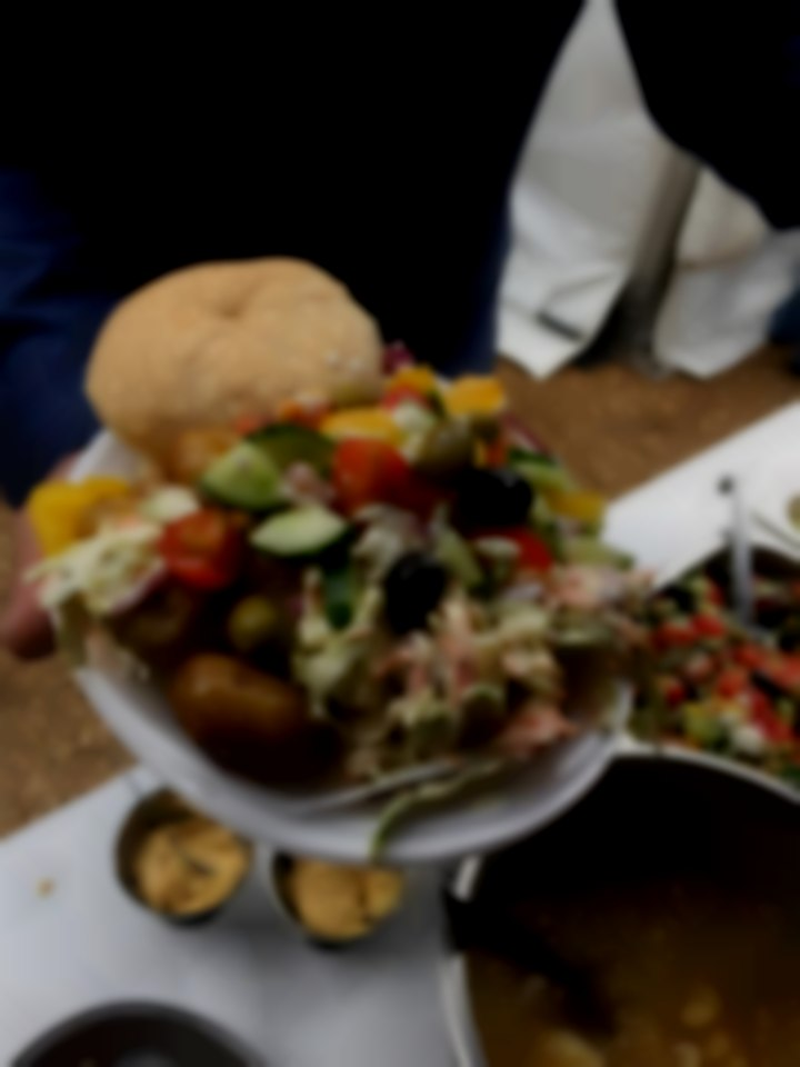 Delicious Hog Roast & Salads