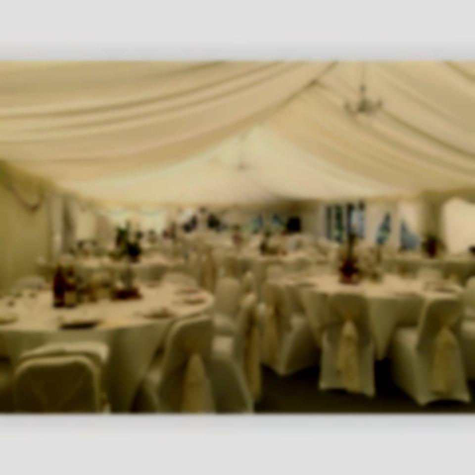 vintage wedding interior
