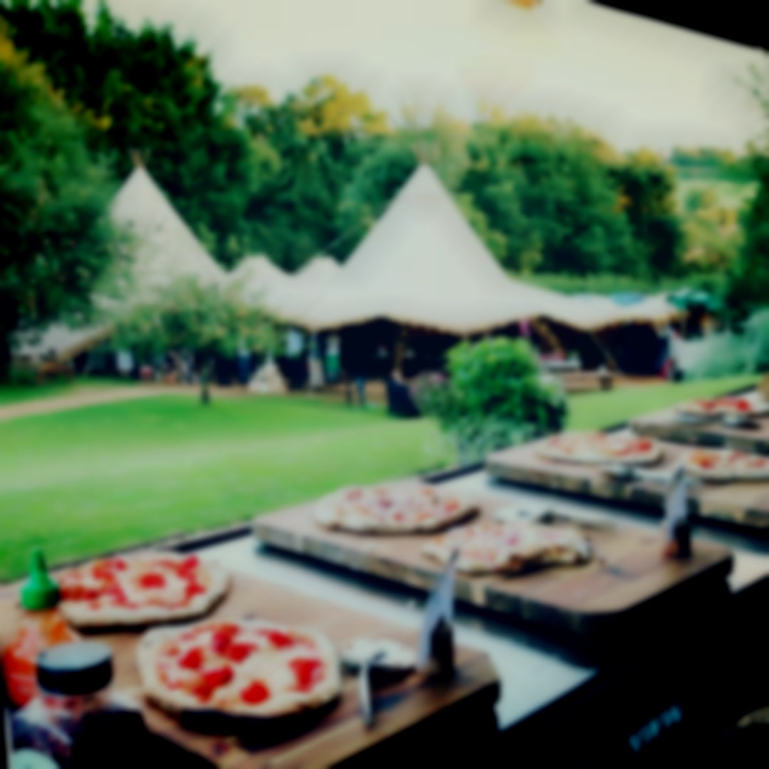 Wood fired Wedding Catering