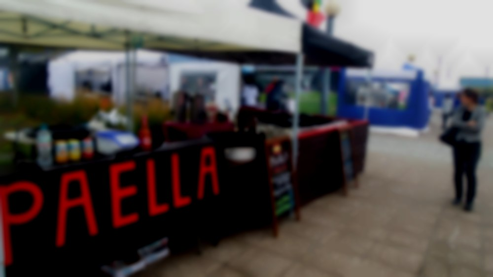 Paella and Tapas Stall