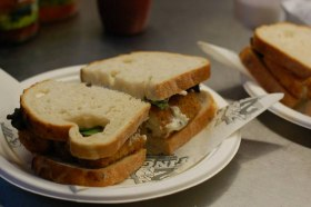 Fish Finger Sandwich by 2 Fingers  - The Ultimate Fish Finger Sandwich Experience!