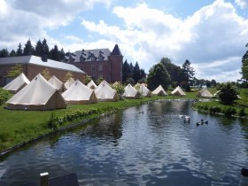 Lotus & Bell Tents Hire - Bassline Productions