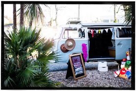 VW Camper photo booth Surrey