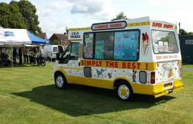 Staffordshire Ice cream van hire