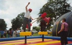 Large Inflatables Games Hire