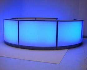 Circular LED Bar Hire