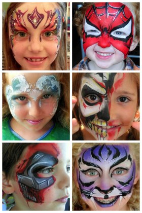 JuliaArts Face Painting Barnsley