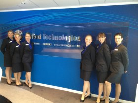 Event Team at Farnborough Airshow 2014 for UTC