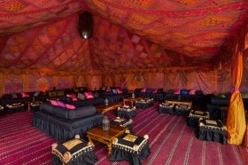 Alternative marquees by The Arabian Tent Co