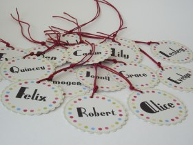 Place Name Tags
