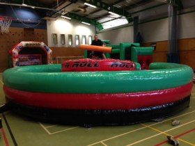 The Bounce Department's Gladiator Joust Rock N Roll available to hire