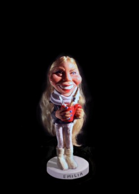 3d caricatures (cake toppers)