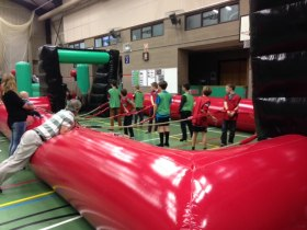 The Bounce Department's Human Table Football available to hire