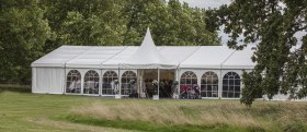 marquee with entrance porch