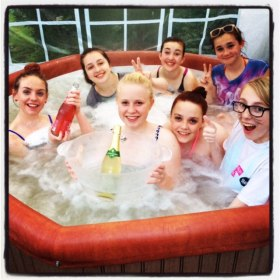 hot tub hire leicester