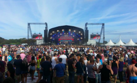 festival sound, lighting & led screen hire