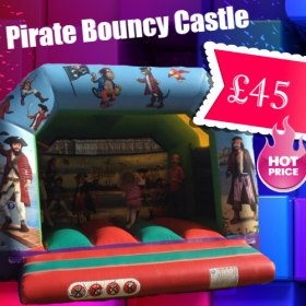 Pirate Bouncy Castle 12ft X 12ft