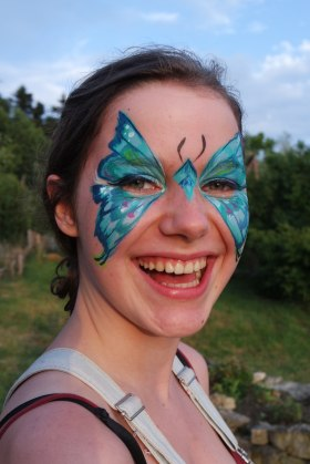 Face Painting by Sabika