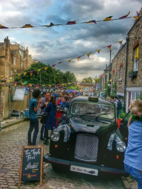 The Tipple Taxi at a Street Party