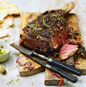 Delicious Grilled Lamb.