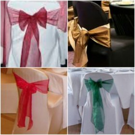 Blissful Chair Covers & Sashes