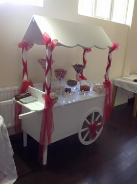 candy sweet cart hire