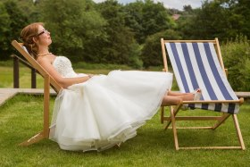 We even have deck chairs to hire