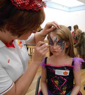 Powwow Face Painting