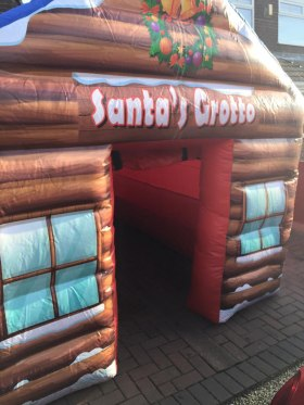 Inflatable Santa's Grotto available to hire in St Helens, Wigan, Warrington, Widnes, Leigh and more!